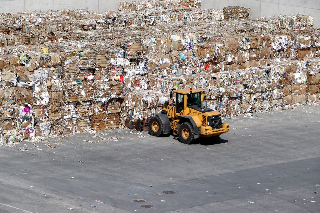 waste paper, recycling, paper industry